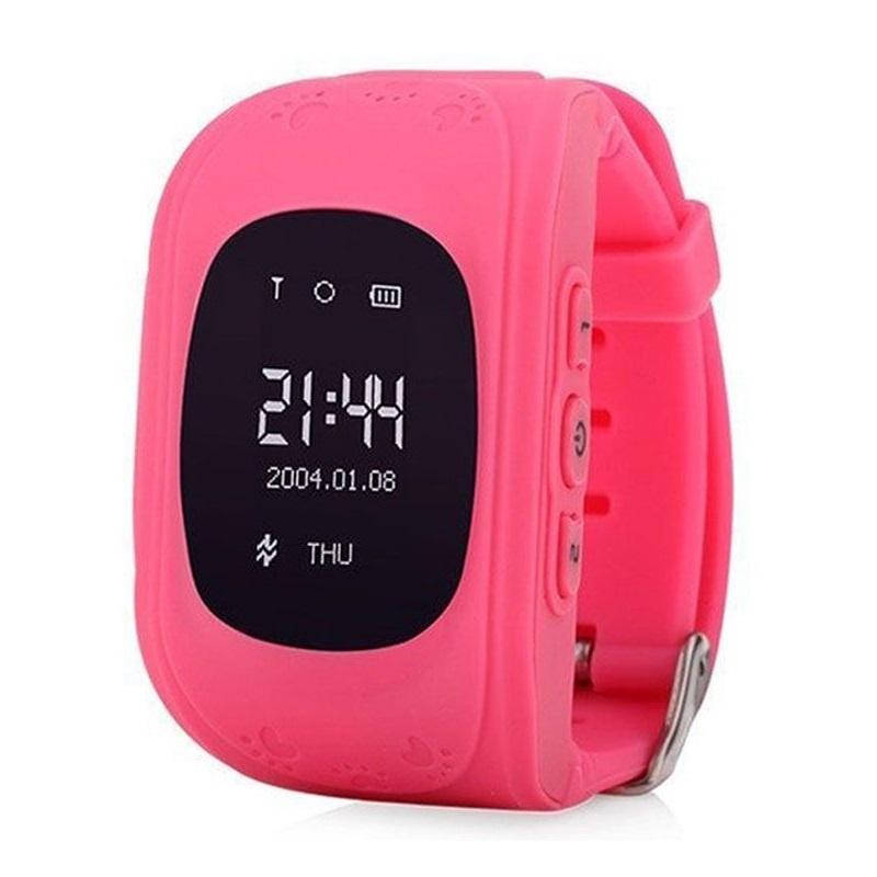 лучшая цена Умные часы для детей No Name Q50, розовый