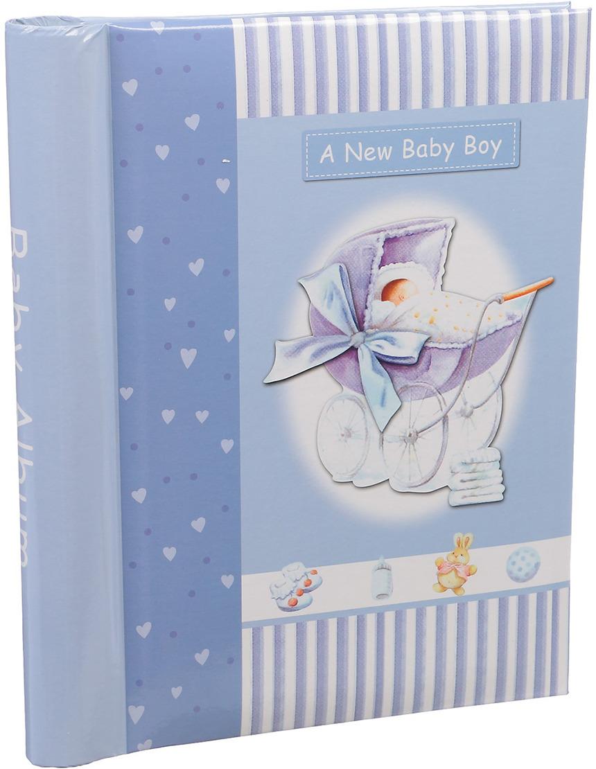 Фотоальбом Baby Boy, магнитный, 3217534, мультиколор, 20 листов, 25,5 х 20 х 2,8 см
