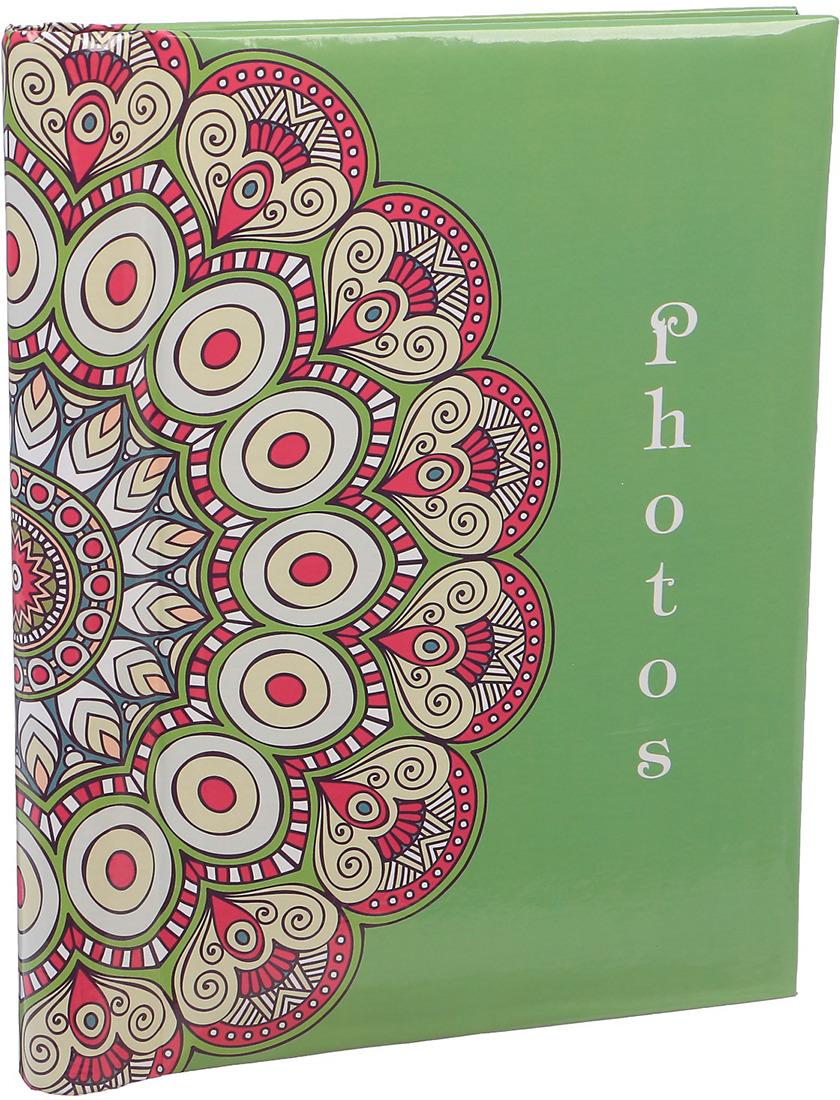 Фотоальбом Мандала, магнитный, 3217532, мультиколор, 20 листов, 25,5 х 20 х 2,8 см