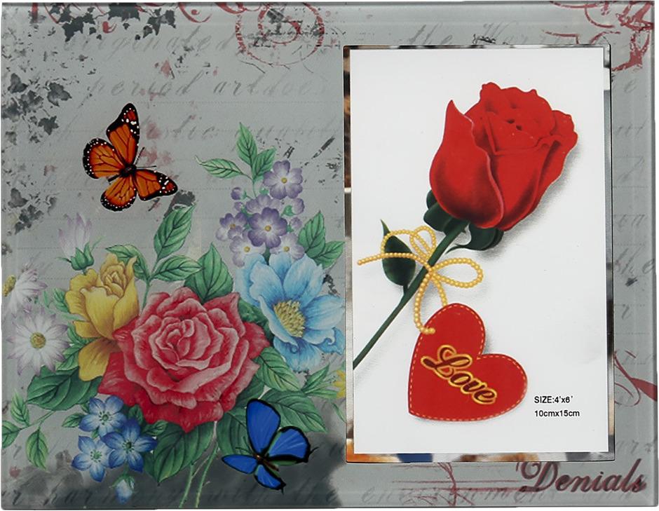 Фоторамка Букет цветов, 1029106, 22,5 х 17 х 1,5 см