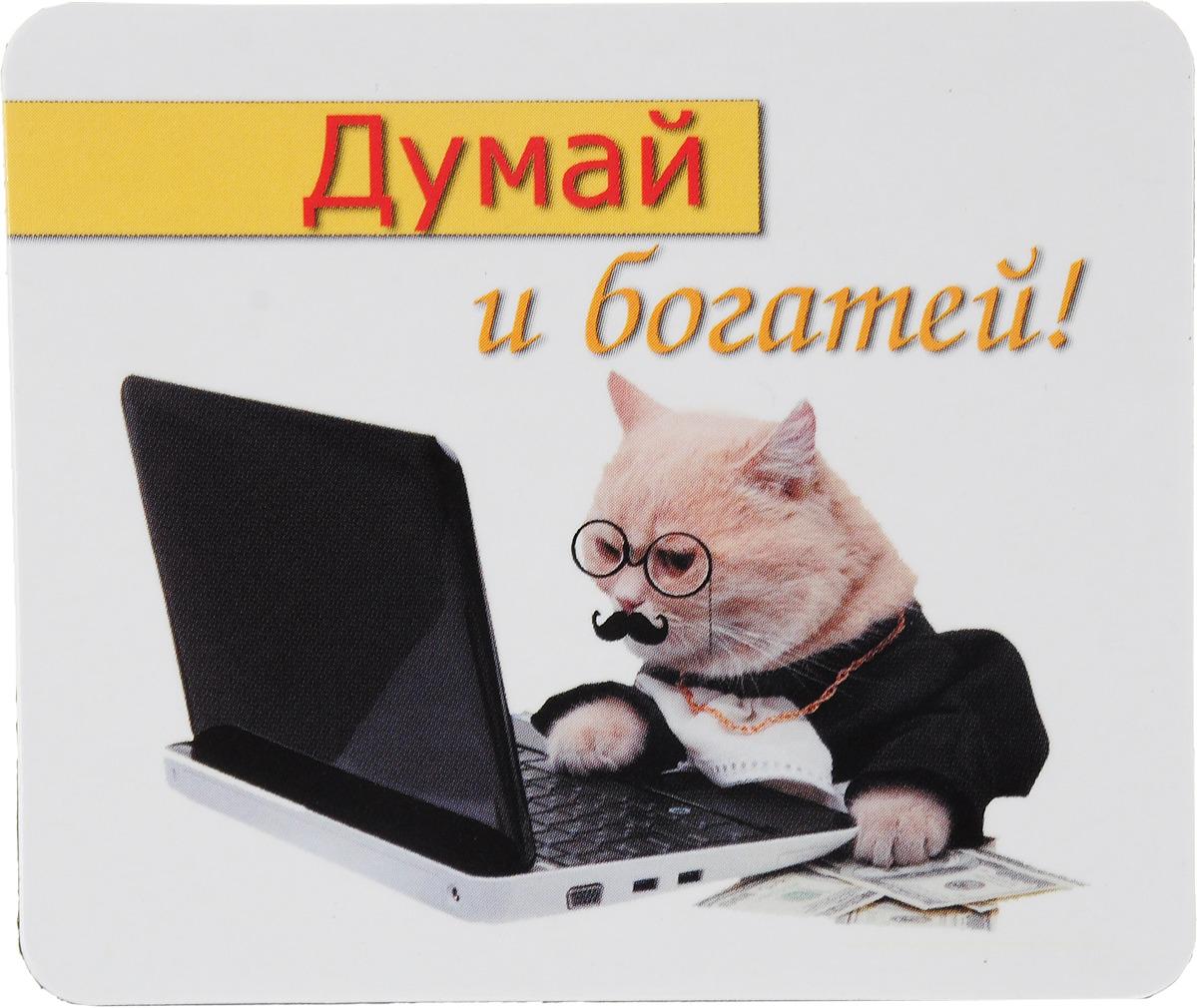 Магнит сувенирный Miland Думай и богатей!, Т-3240, мультиколор