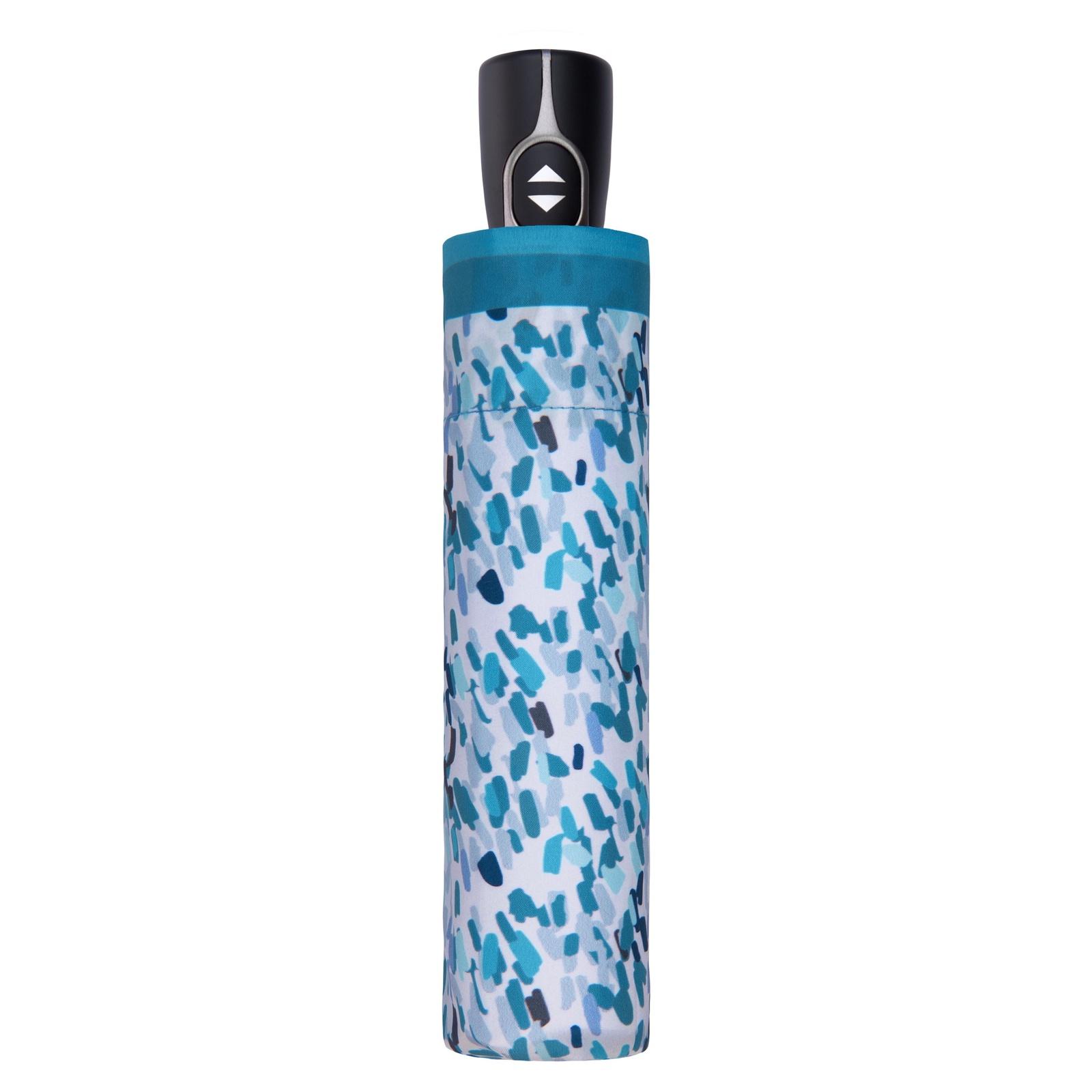 Зонт Doppler Sprincle, белый, голубой, синий, серый зонт doppler 7441465 pe2