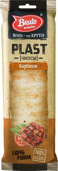 Чипсы BRUTO Plast барбекю, 90 г барбекю одесса