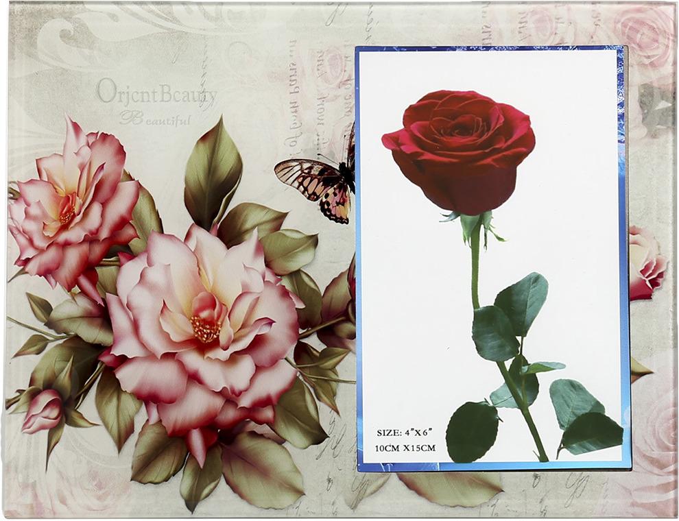 Фоторамка Распустившиеся розы, 3747199, 22,5 х 17 х 1,5 см
