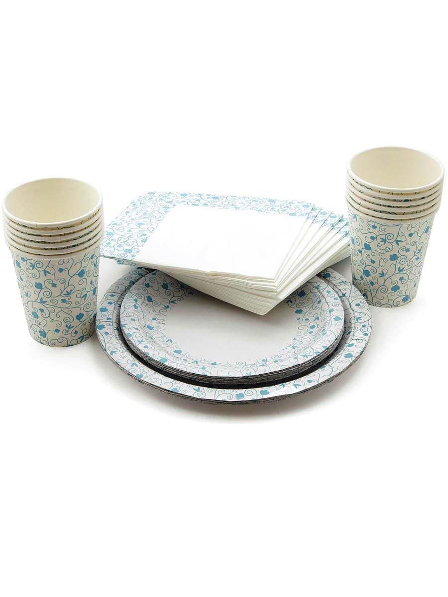 Набор одноразовой посуды Paclan Набор одноразовой бумажной посуды DECOR PARTY: 12 стаканов по 250мл, 12 тарелок 230мм, 12 тарелок 170мм, салфетки 20шт 3 слоя. 33x33 см., разноцветный ступень pastorelli himalaya annapurna 33x33