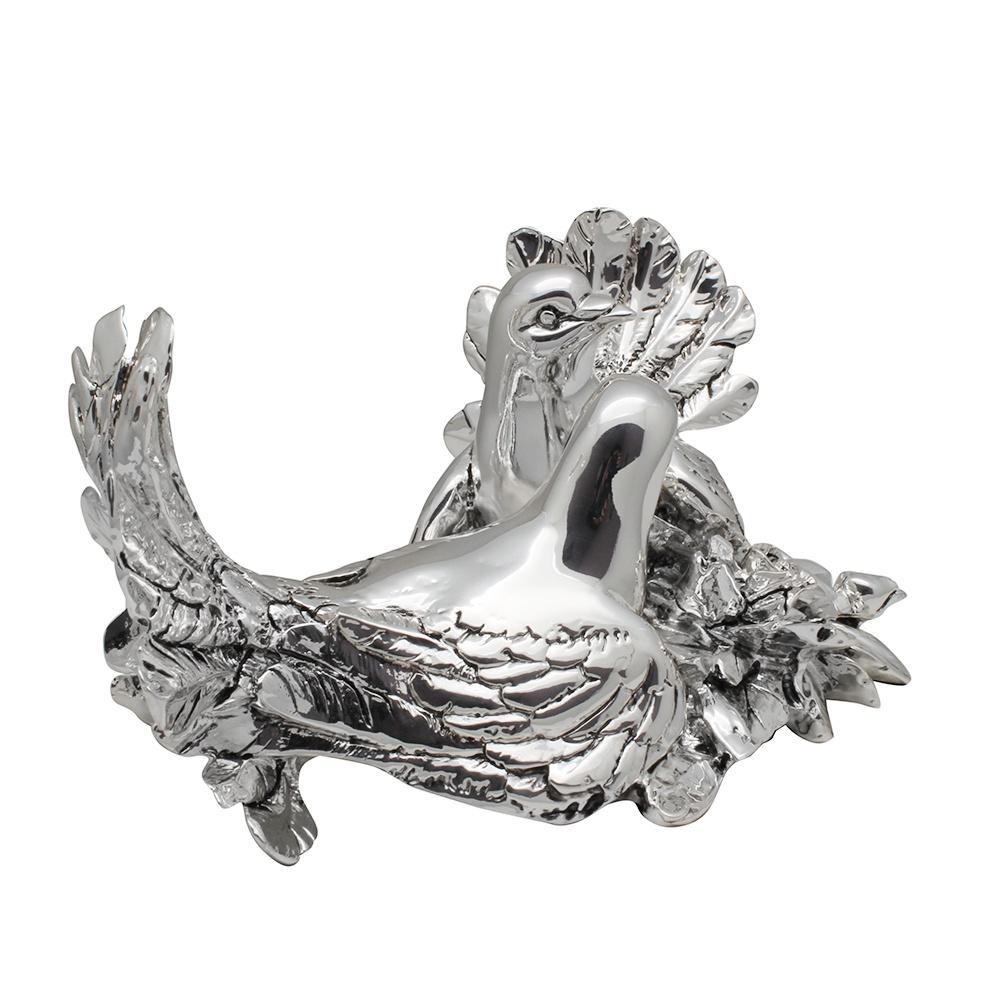 Статуэтка Exetera argenti Голуби, 46-219521, серебристый цена