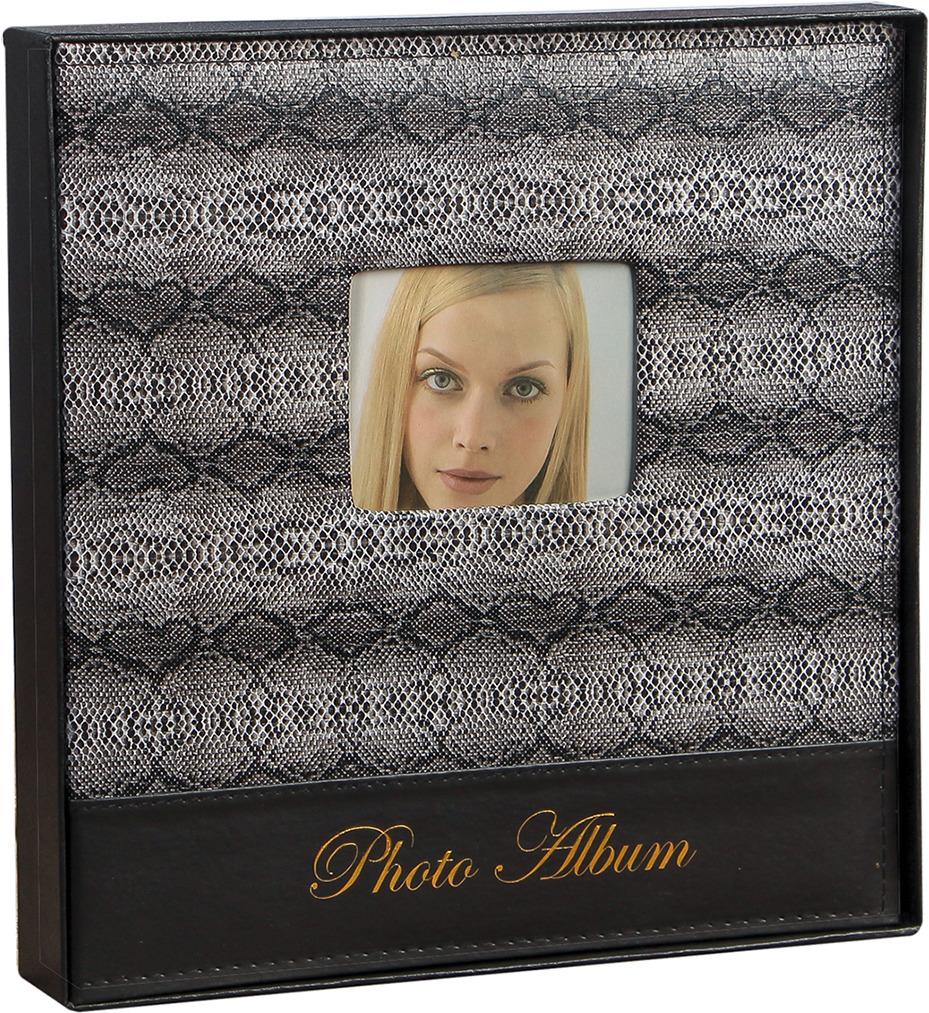 Фотоальбом Змеиная кожа, магнитный, 3725140, мультиколор, 20 листов, 33,5 х 34,5 х 5,5 см