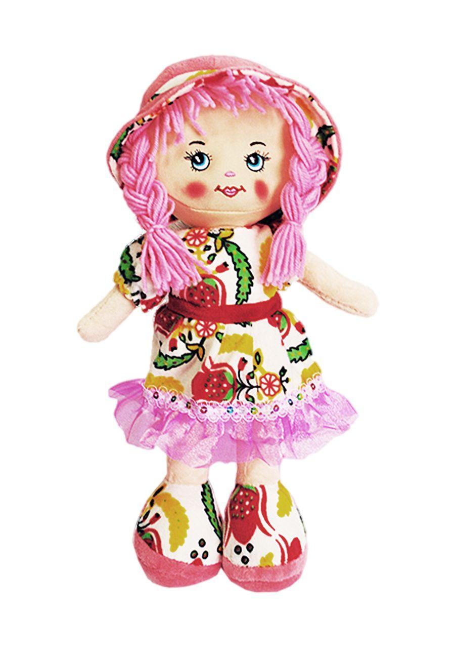 Кукла TashaToys Игрушка. в платье. (10x25x10 см.) белый, розовый hp designjet 83 cyan 680 мл c4941a