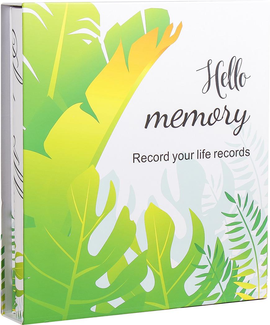 Фотоальбом Листья пальмы, 3930191, мультиколор, на 400 фото, 35 х 32 х 6 см