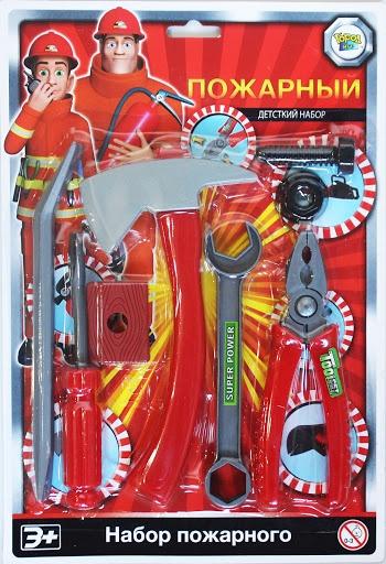 Игровой набор Пожарный расчет 1, серия Важная профессия игровые наборы профессия спектр доктор