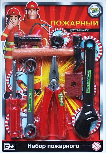 Игровой набор Пожарный расчет 2, серия Важная профессия игровые наборы профессия спектр доктор