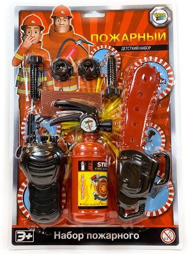 Игровой набор Пожарный расчет 3, серия Важная профессия игровые наборы профессия спектр доктор