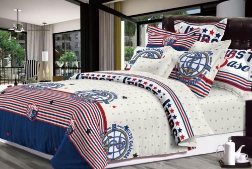 Комплект постельного белья TOONTEX сатин ТТ 222-семейный комплект постельного белья lou семейное сатин наволочки 50 х 70 2шт