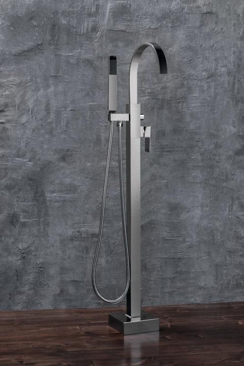 Смеситель NT Bathroom NT1001, серый