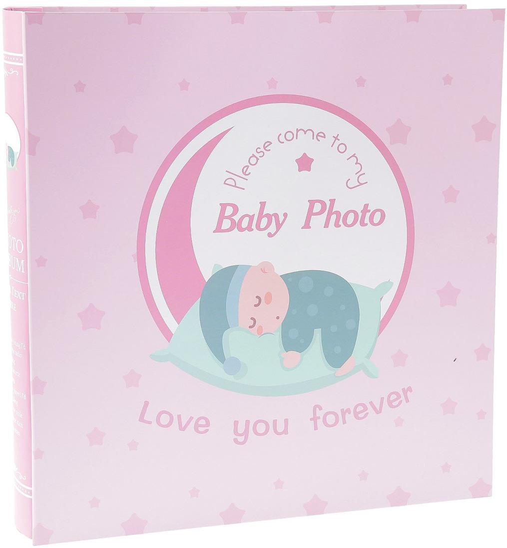 Фотоальбом Спящий малыш, 2513887, мультиколор, на 898 фото, 34 х 34 х 6 см