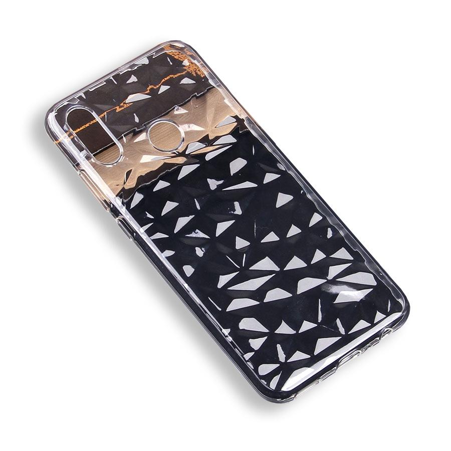 Чехол для сотового телефона силиконовый Diamond для Huawei Honor 10 Lite/P Smart (2019), прозрачный