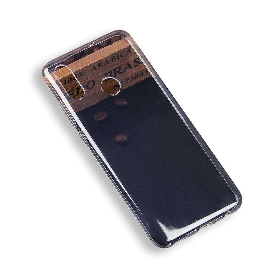 Чехол для сотового телефона силиконовый для Huawei Honor 10 Lite/P Smart (2019), прозрачный