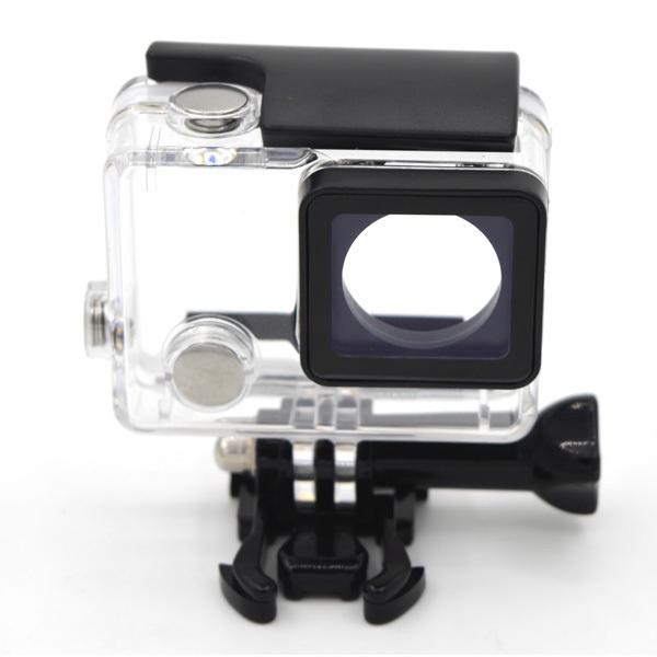 Аквабокс GoodChoice GoPro Hero 4, прозрачный bicycle headset adapter mount w screw for gopro hero 4 2 3 3 silver