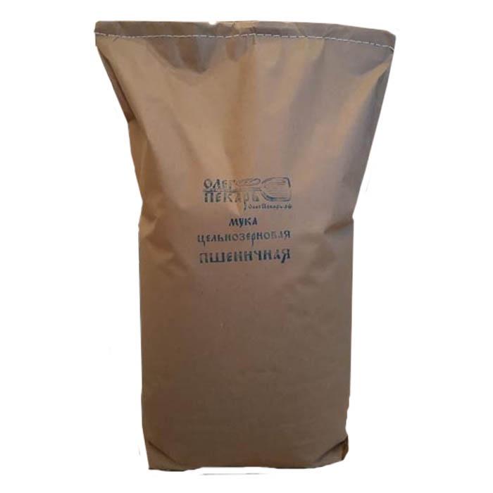 Мука цельнозерновая пшеничная БИО. Из органической Шугуровской пшеницы, 10 кг пудовъ мука пшеничная обойная цельнозерновая 1 кг