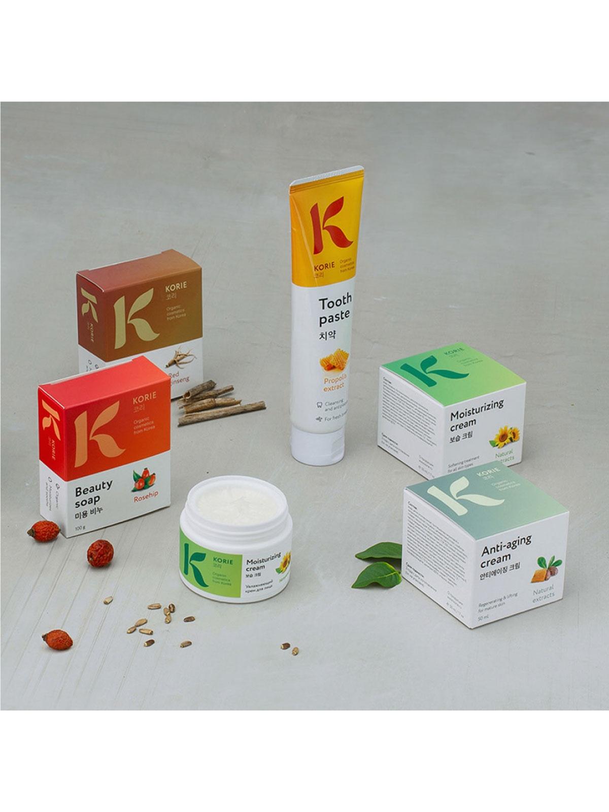 Moisturizing creamНатуральный увлажняющий крем для лица Korie Korie