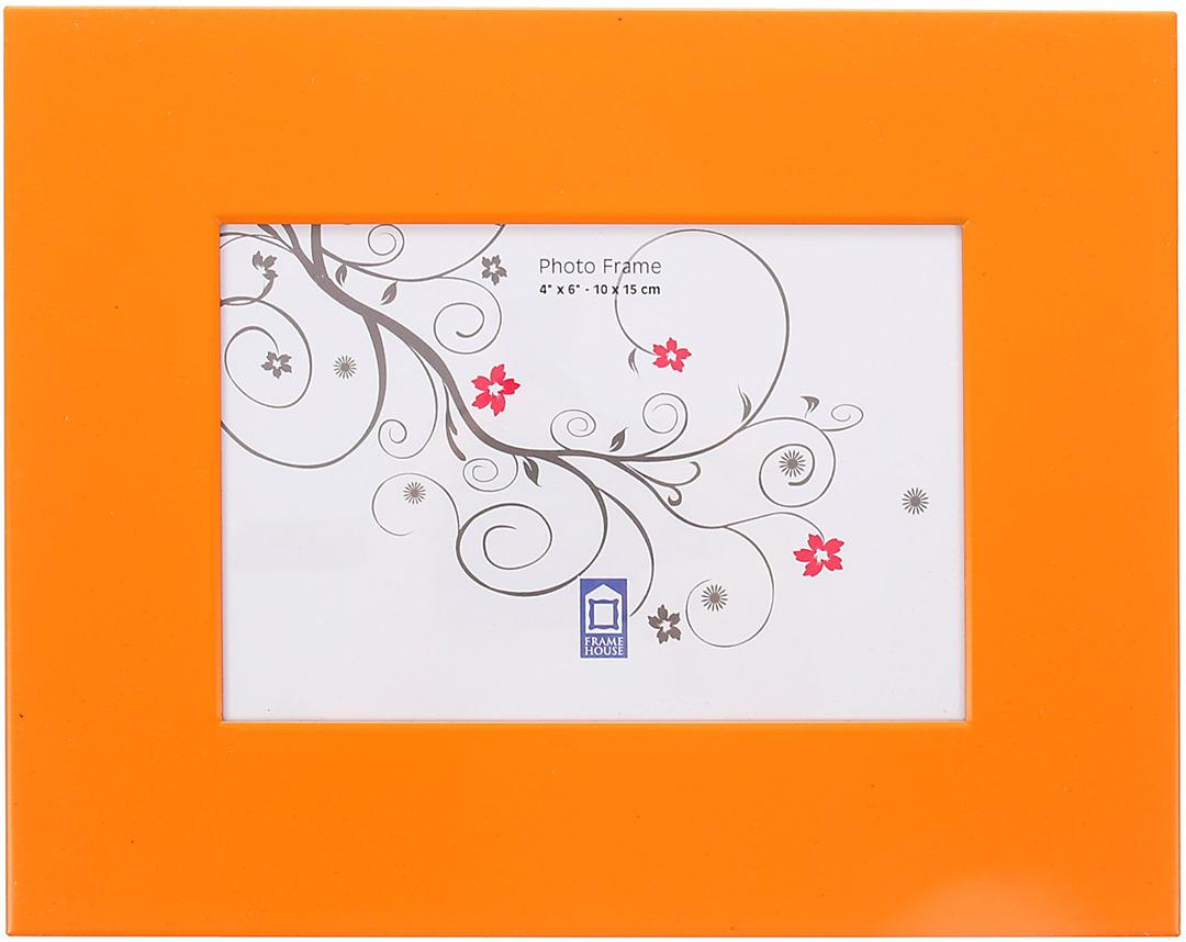 """Фоторамка """"PATA"""", цвет: оранжевый, 10 x 15 см"""
