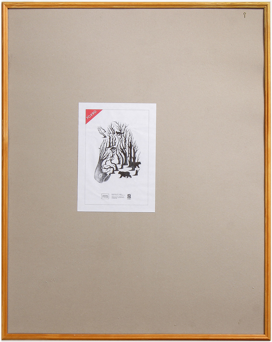 Фоторамка Zebra № 20/2, 4194658, 70 х 90 см