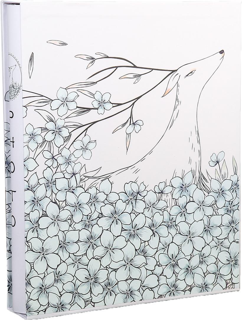 Фотоальбом Цветочный олень, 3725031, мультиколор, на 400 фото, 36 х 30 х 5 см