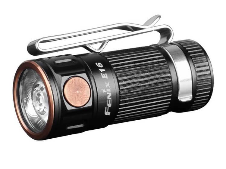 Ручной фонарь Fenix E16, черный