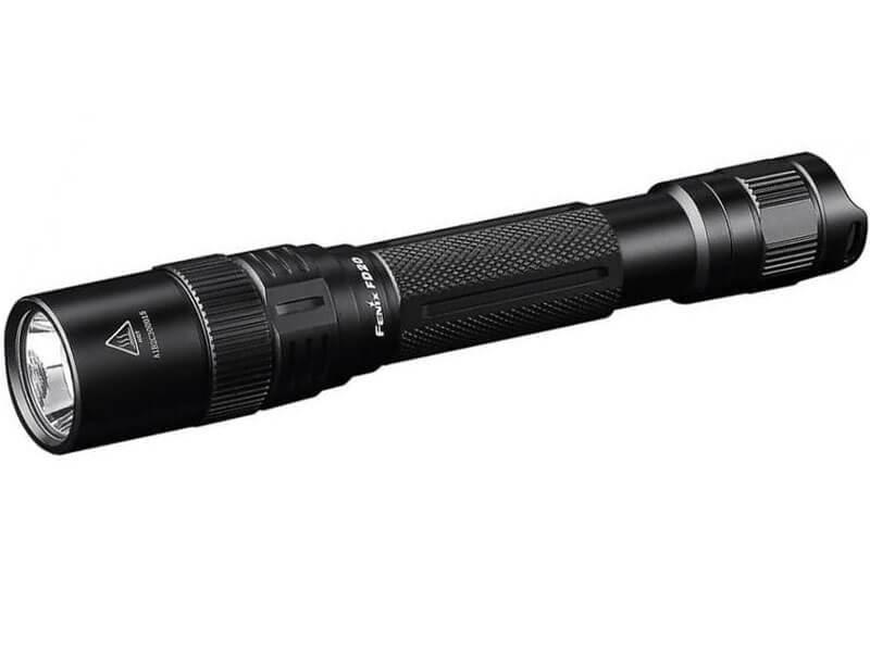 Ручной фонарь Fenix FD20 Focus, черный