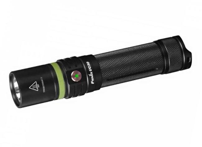 Ручной фонарь Fenix UC30, черный фонарь fenix pd35 v2 0 xp l hi v3