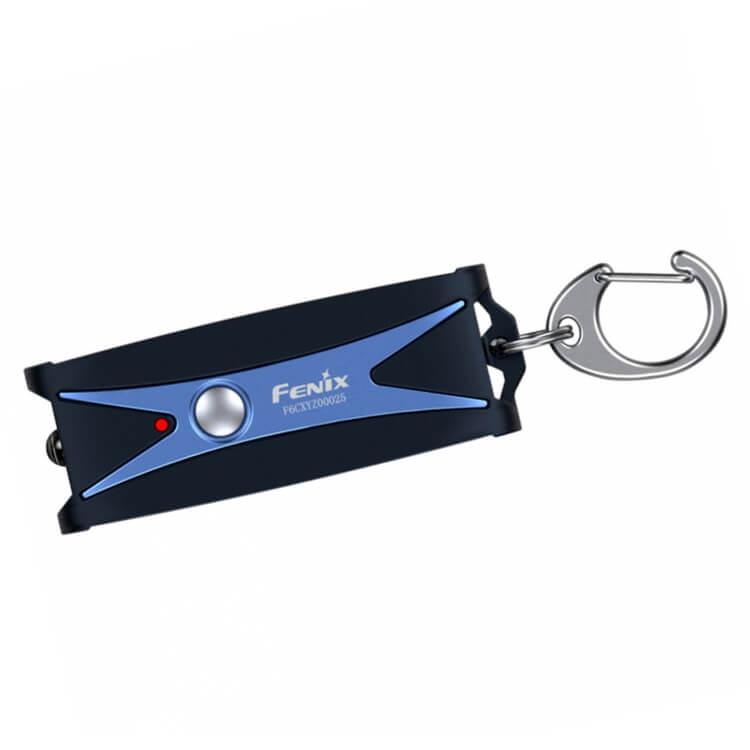 Фонарь-брелок Fenix UC01 Blue, черный