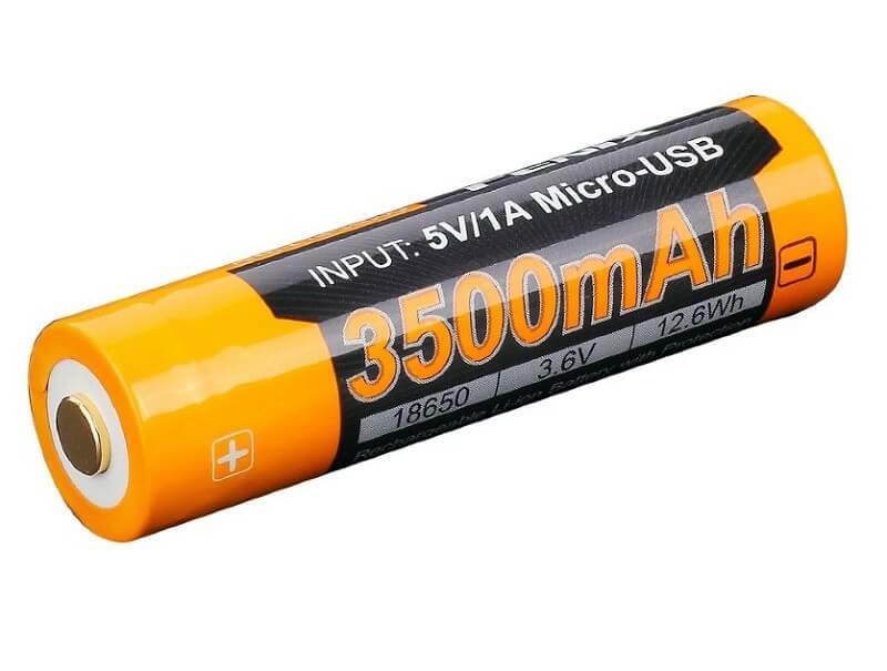 Аккумуляторная батарейка Fenix ARB-L14-3500U, оранжевый polaris ppc 0505ad мультиварка скороварка
