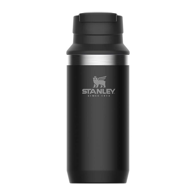 Термокружка Stanley Adventure 0.35L Vacuum Switchback Mug Matte Black, черный