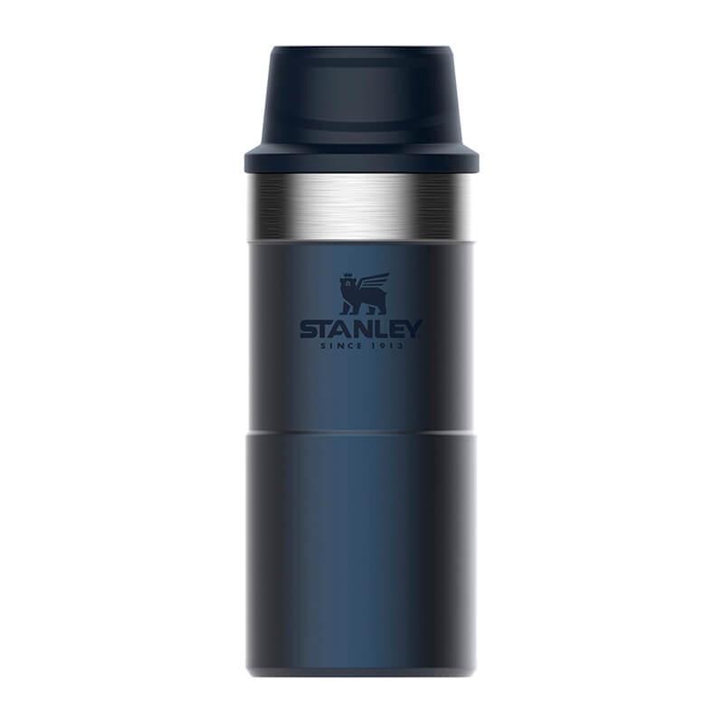 Термокружка Stanley Classic 0.35L One Hand 2.0 Vacuum Mug Navy, синий