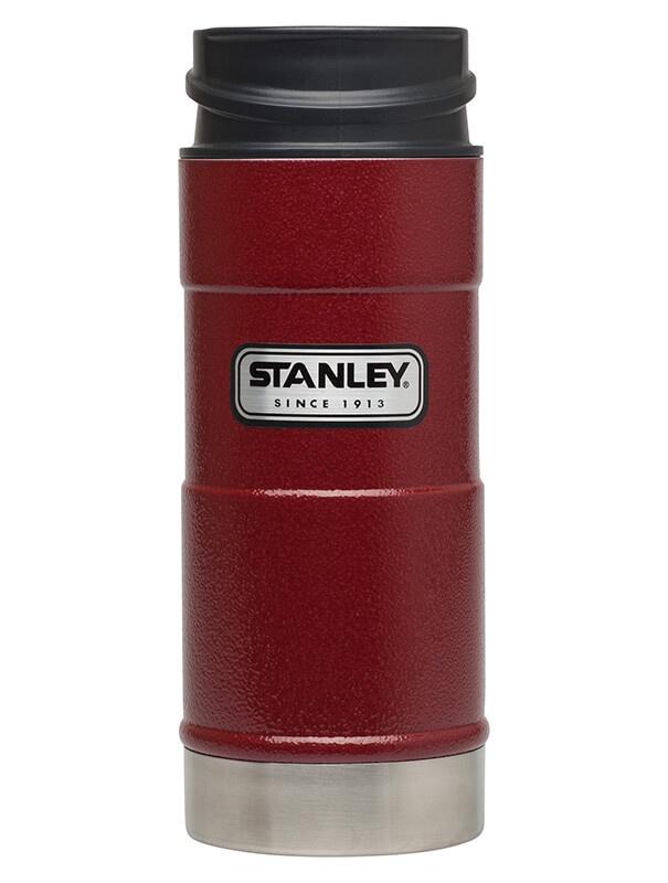 Термокружка Stanley Classic 0.35L One Hand Vacuum Mug Hammertone Crimson, Нержавеющая сталь термокружка stanley classic mug 1 hand 0 47л темно зеленый