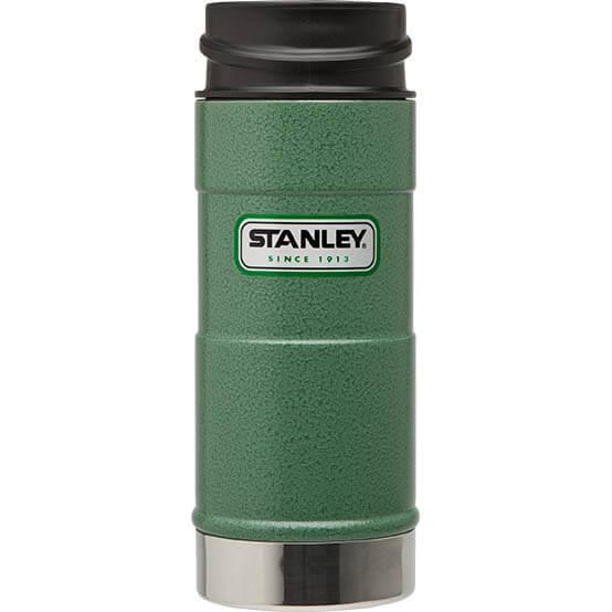 Термокружка Stanley Classic 0.35L One Hand Vacuum Mug Hammertone Green, зеленый термокружка stanley classic mug 1 hand 0 47л темно зеленый