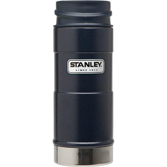 Термокружка Stanley Classic 0.35L One Hand Vacuum Mug Hammertone Navy, синий термокружка stanley classic mug 1 hand 0 47л темно зеленый