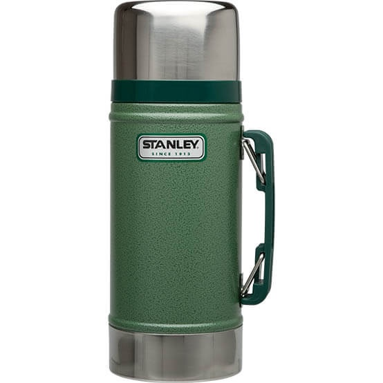 Термос Stanley Classic 0.7L Vacuum Food Jar Hammertone Green, Нержавеющая сталь термос stanley the legendary classic food jar 0 94л черный