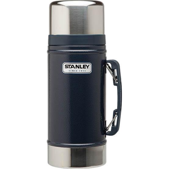 Термос Stanley Classic 0.7L Vacuum Food Jar Hammertone Navy, Нержавеющая сталь термос stanley the legendary classic food jar 0 94л черный