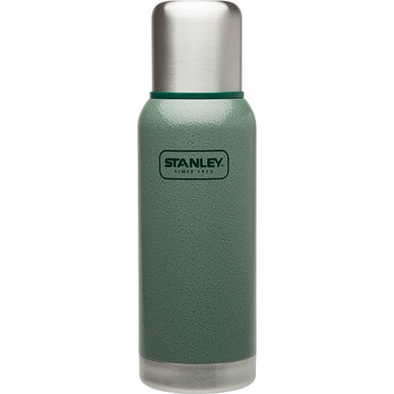 Термос Stanley Adventure 0.75L Vacuum Bottle Hammertone Green, Нержавеющая сталь