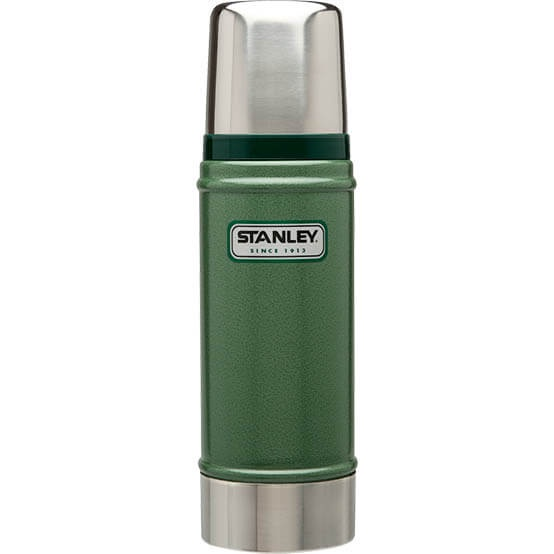Термос Stanley Classic 0.47L Vacuum Bottle Hammertone Green, Нержавеющая сталь