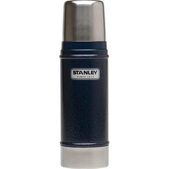 Термос Stanley Classic 0.47L Vacuum Bottle Hammertone Navy, Нержавеющая сталь