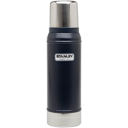 Термос Stanley Classic 0.75L Vacuum Bottle Hammertone Navy, Нержавеющая сталь