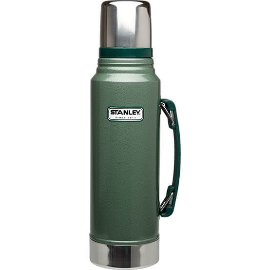 Термос Stanley Classic 1L Vacuum Bottle Hammertone Green, Нержавеющая сталь