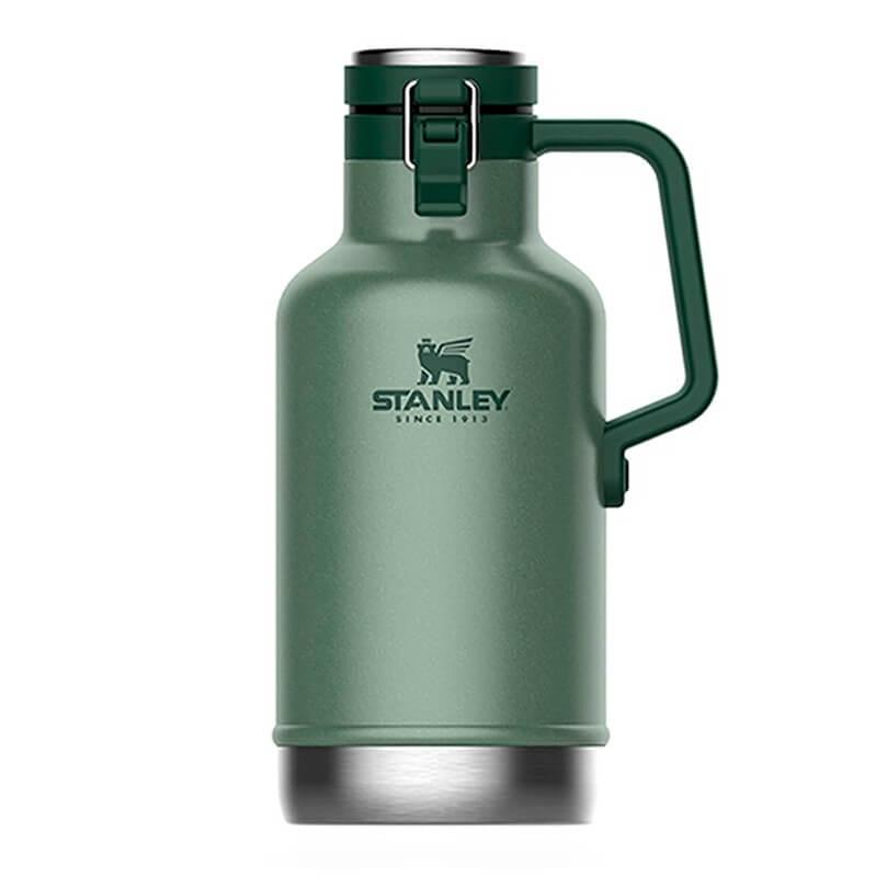 Термос Stanley Growler 1.9L Hammertone Green, Нержавеющая сталь