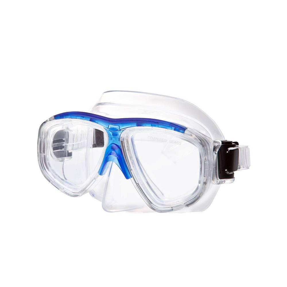 Маска для плавания Alpha Caprice М-1320, синий цена и фото