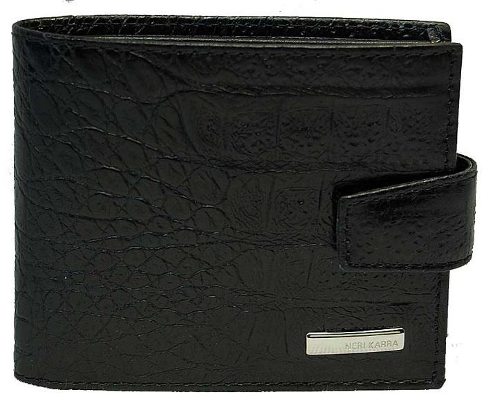 Портмоне Neri Karra .0356, черный портмоне мужское neri karra цвет черный 0354 03 01