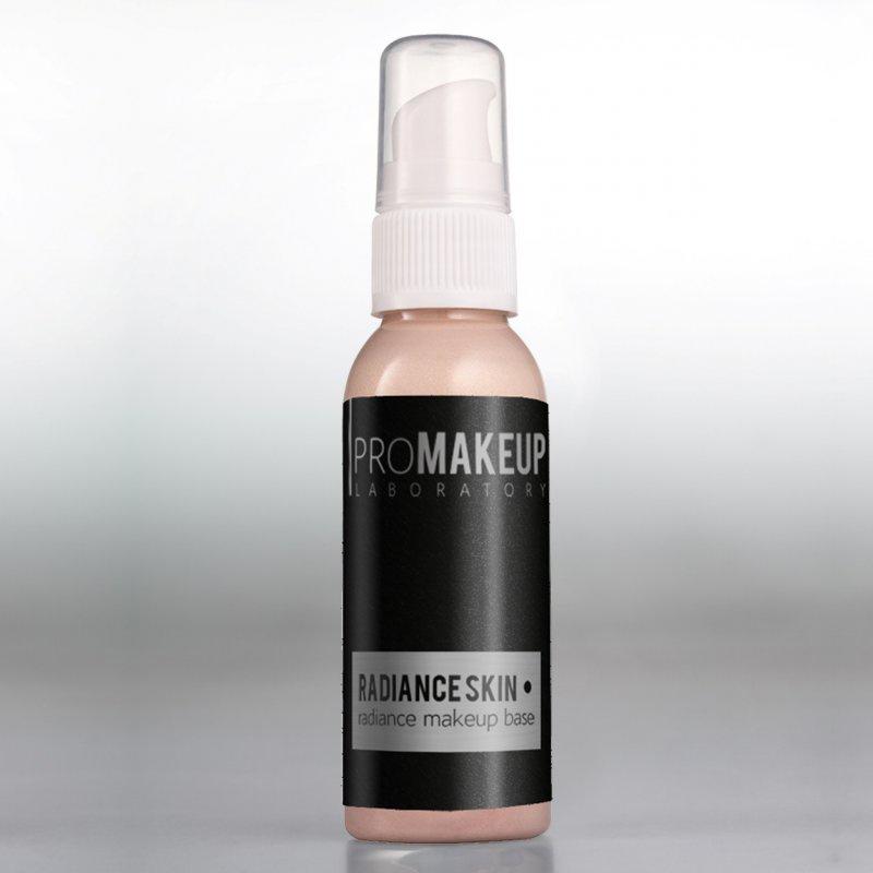 Основа под макияж Promakeup Laboratory RADIANCE SKIN сияющая основа, эффект свечения кожи изнутри, оптически скрывает покраснения и раздражения кожи, 01 ROSE GOLD