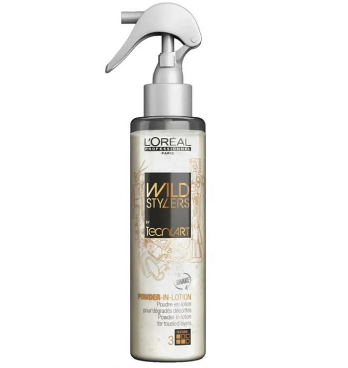 Лосьон для волос L'Oreal Professionnel Tecni Art Powder In Lotion, (фикс. 3) текстурирующий, с пудрой из минеральных частиц 150 мл. l oreal professionnel оксидент обогащенный 3
