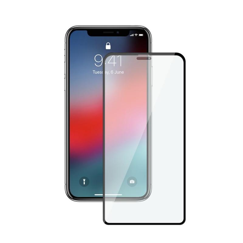 Стекло защитное Dekken 3D FULL GLUE/FULL SCREEN для Apple iPhone XS MAX perfeo защитное стекло apple iphone xs max черный 2 5d full screen gorilla pf a4469
